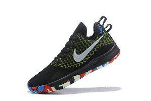 582b504b1af0 Mens Nike Lebron Witness 3 Black Red Green Basketball Shoes
