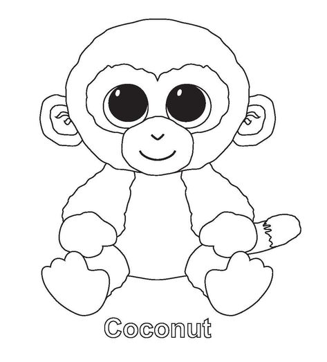 Beanie Boos Coloring Pages Best Of Glubschi Katze Ausmalbild