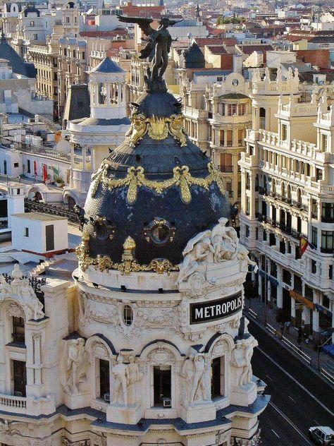 Edificio Metrópolis Desde Azotea Círculo Bellas Artes En