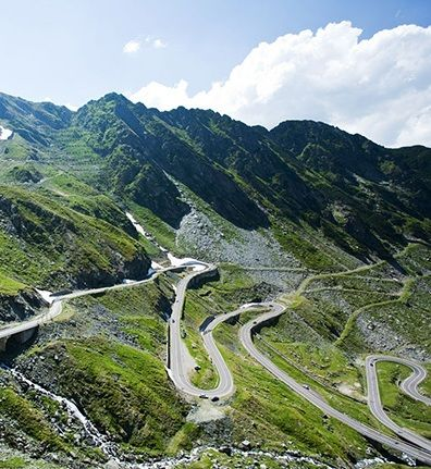 Romania's Transfagarasan Road is a high-altitude thrill ride. Literary (and vampire) fans will also enjoy passing by Poenari Castle, the former residence of the infamous prince Vlad III, who served as the inspiration for Bram Stoker's Count Dracula.
