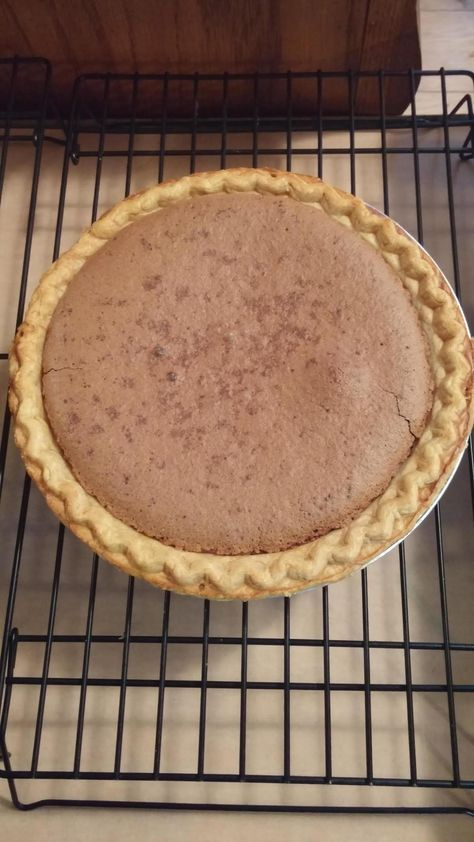 Chocolate,Peanutbutter,Fudge Pie #sweet #rich #justapinchrecipes