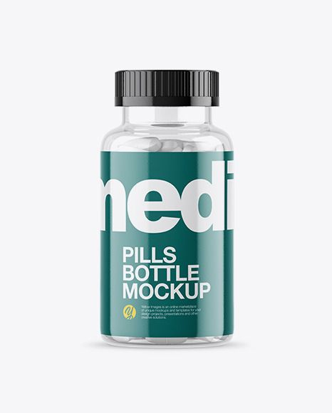 Download Download Clear Bottle With White Pills Mockup Mockup Free Download Mockup Free Psd Mockup PSD Mockup Templates