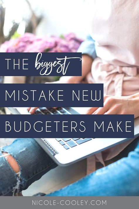 4 simple budgeting steps  tips for beginners. Are you a creating a household budget? If so you need to click here and make sure you are not making one of the most common and biggest budgeting mistakes! #budgeting #money