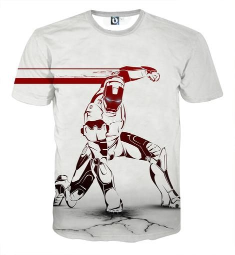 Marvel Comics Box Logo T-Shirt Homme