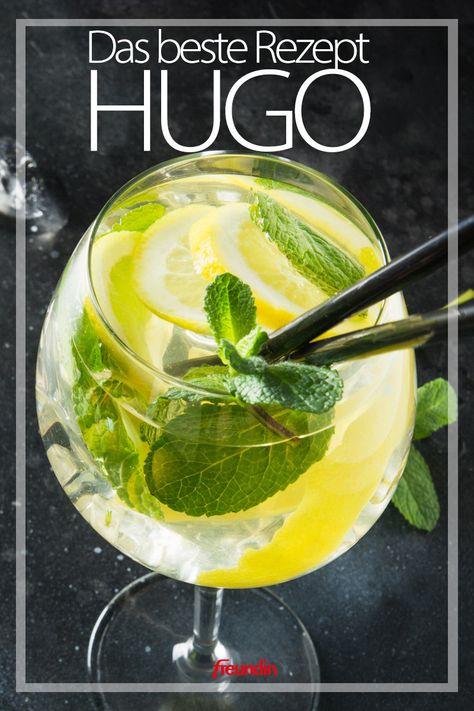 Wir lieben Hugo an heißen Sommerabenden! Und selbstgemacht schmeckt das erfrischende Getränk natürlich am besten. So geht's ganz einfach
