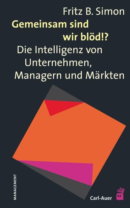 Pin Auf Carl Auer Management Organisationsberatung