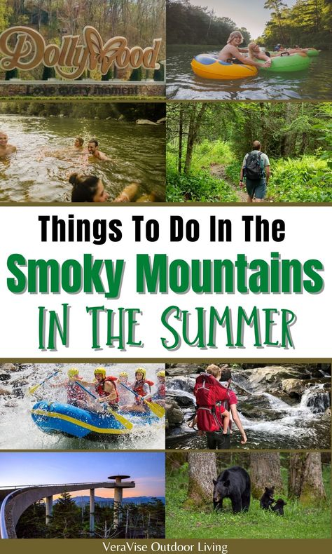 Summertime is fast approaching and the Great Smoky Mountains are calling! What better way to enjoy this sunny season than experiencing what these wondrous mountains have to offer. To get the most out of your trip to the Smokies, here is a guide about the things to do in the Smoky Mountains in the summer that is definitely one for the books.