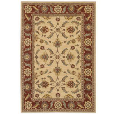 Karastan Sierra Mar Sedona 8 Foot 6 Inch X 11 Foot 6 Inch Rug In Ivory Henna Area Rugs Rugs On Carpet Rugs