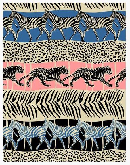 A new take on animal print