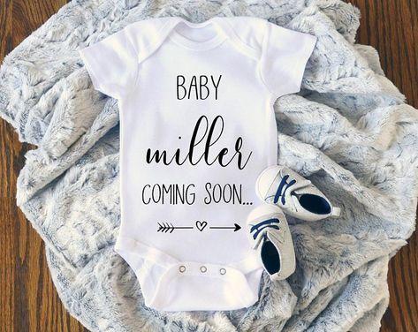 Baby bodysuit romper nest-tick pregnancy announcement gift idea