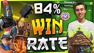 84 Win Rate Easy Miner Poison Bait Deck Clash Royale Clash Royale Clash Royale Deck Deck