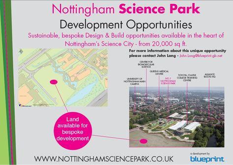 Nottingham science park development blueprint pinterest malvernweather Choice Image