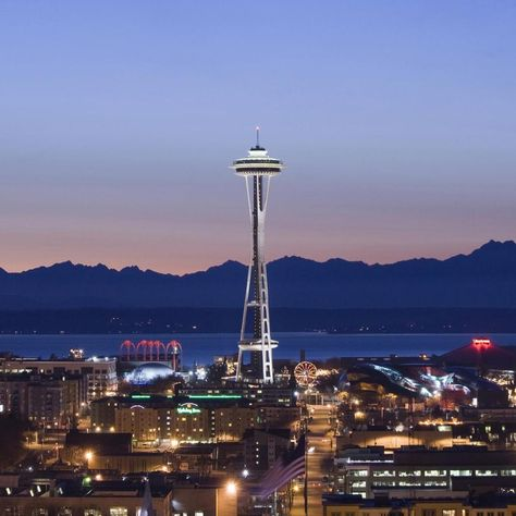 Free Download Seattle Space Needle Ipad Wallpaper For Your Ipad In 1024x1024 Pixels High Definition Resolution Last U Space Needle Seattle Places To Travel