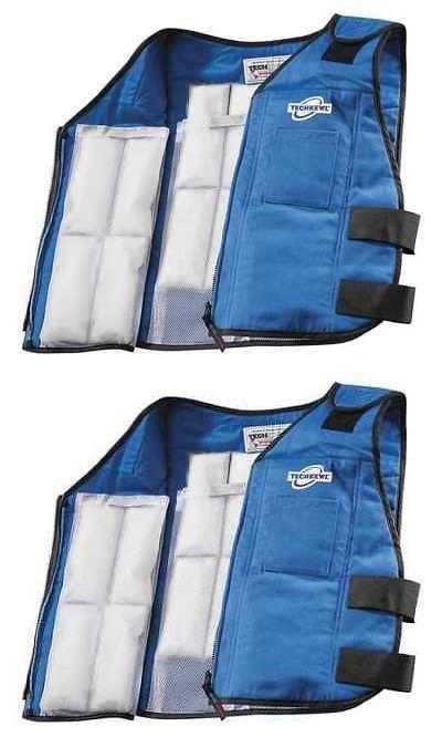 Details About Techniche 6626 Bluem L M L Phase Change Cooling Vest