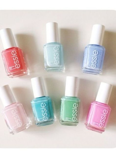 Perfect pastel line up.