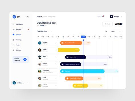 Team Management Website Dashboard