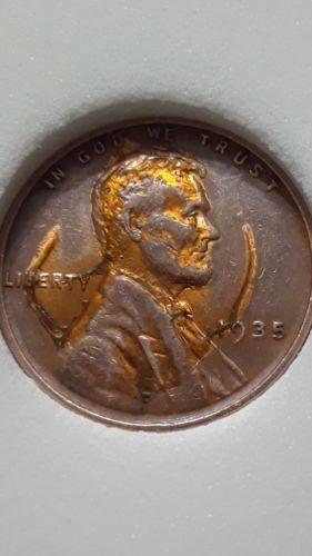 1935 WHEAT PENNY LINCOLN CENT RARE COIN ERROR   u   Rare coins