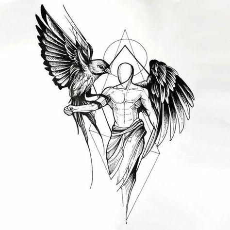 ▷ 1001+ Ideen für ein wunderschönes Engelsflügel-Tattoo, das Sie wirklich genießen können - Tattoos - #das #ein #EngelsflügelTattoo #für #genießen #Ideen #können #Sie #Tattoos #wirklich #wunderschönes