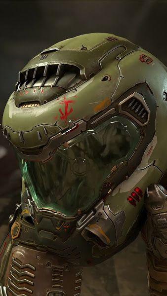 Doom Eternal, Doomguy, Helmet, 4K,3840x2160, Wallpaper