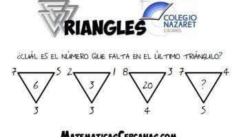 Triangles Que Numero Debe Tener El Ultimo Triangulo En 2020