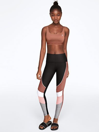 b76b19015564b PINK Ultimate High Waist Colorblock Legging featured 1 of 3 | Things ...