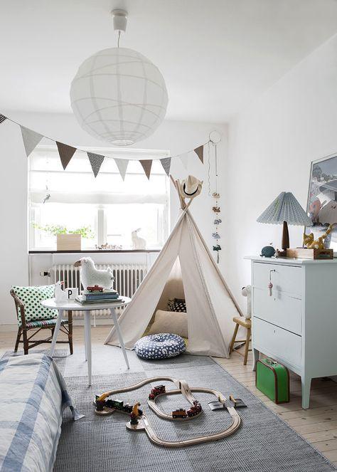 Bright Scandinavian Family Home
