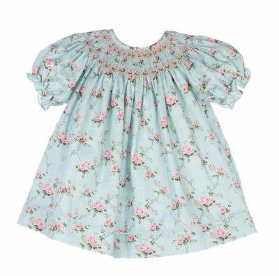 be283ed6d Anavini Velani Baby / Toddler Girls Green Check Smocked St. Patrick's Day  Shamrocks Bishop Dress | St. Patrick's Day in 2019 | Dresses, Toddler girl,  ...