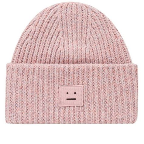 582766325fd Acne Studios Pansy W Face Beanie (Dusty Pink)