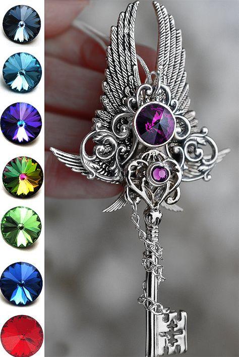 Ketten von der Demiurg Schlüssel Halskette von KeypersCove auf Etsy
