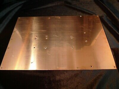 Copper Grounding Plane 1 16 Inch Thick X 15 Inch Long X 10 Inch Wide Sheet Plate Ebay In 2020 10 Things Ebay Sheet