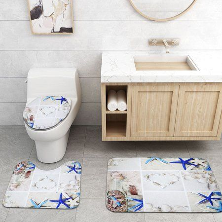 Home Bathroom Rug Sets