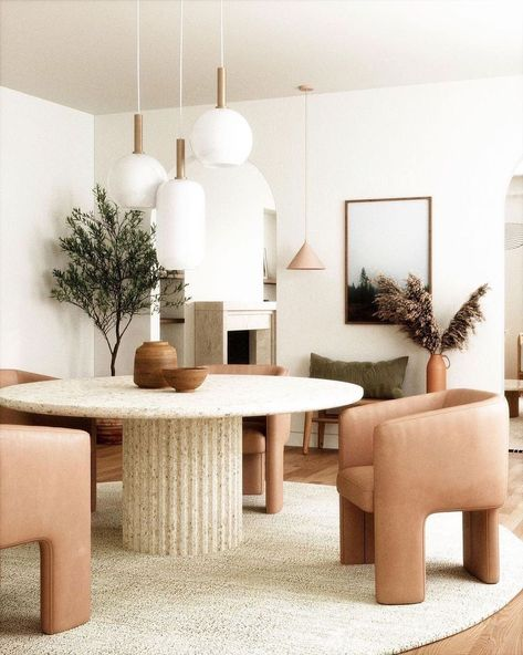 "Interior Design on Instagram: ""What do you think of this smal design?🤍 . . . Credit : @anthology_creative_studioLiving .  #eames #design #30s #furnituredesigner…"""