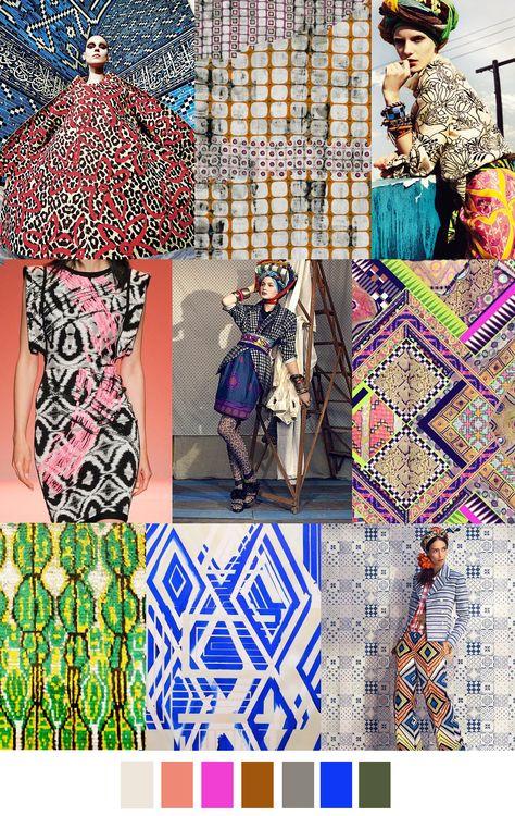 sources: chicquero.com, jeannewilliamson.com, lundlund.com, style.com (Herve Leger by Max Azria Spring 2015), fabsugar.com, pinterest.com (Matthew Williamson via Jenna Sufficool), 1stdibs.com, pin...