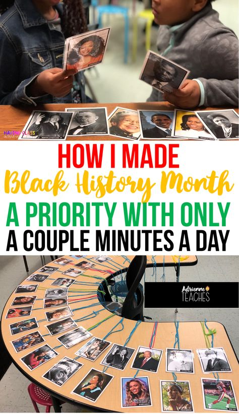 Incorporate Black History In Your Classroom All Month