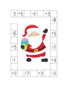 Christmas Math Puzzles Worksheets Addition And Subtraction Up To 10 Digital Download Christmas Math Maths Puzzles Addition And Subtraction