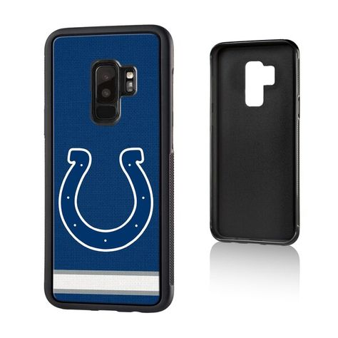 Indianapolis Colts Galaxy Stripe Design Bump Case #IndianapolisColts