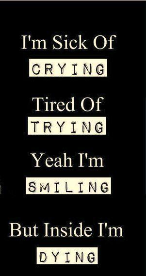 Sad life !
