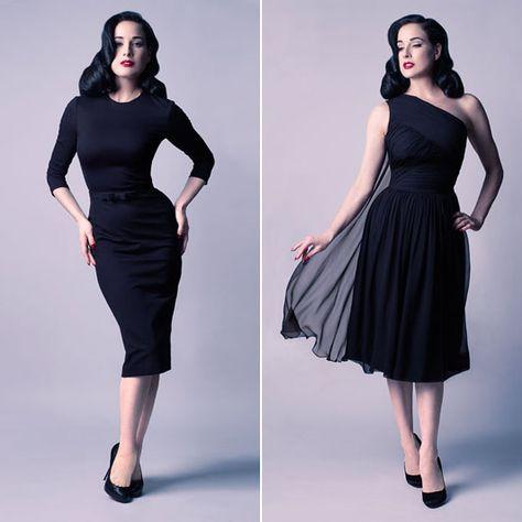 786a33d2381 Dita Von Teese s designs on fashion - Telegraph