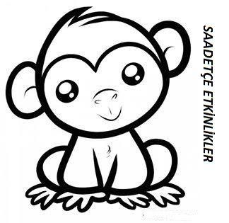 Beyhan Adli Kullanicinin Boyama Panosundaki Pin Maymunlar