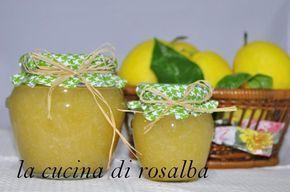 Marmellata Di Limoni Di Sicilia Ricetta Ricette Marmellata E