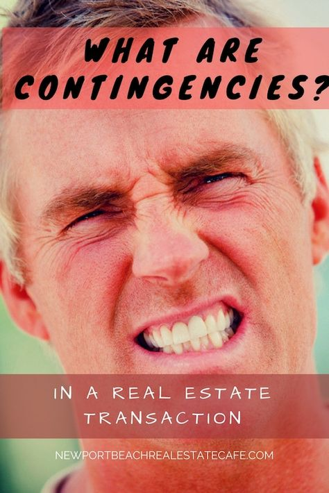 What are Contingencies with a Real Estate Purchase?