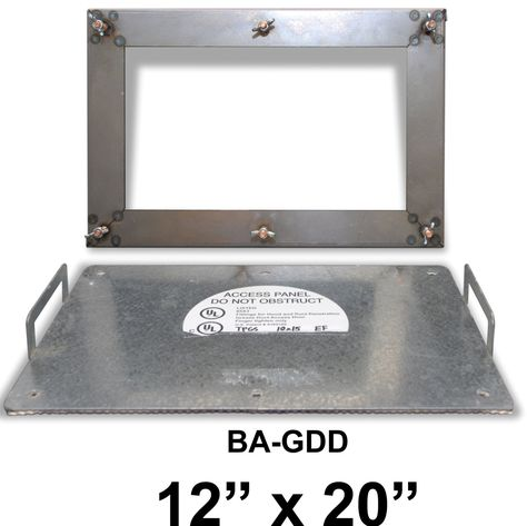 12 X 20 Grease Duct Access Panel Access Panel Duct Grease