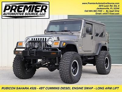 Ebay 2005 Jeep Wrangler 4bt Cummins Diesel Rubicon Sahara Unlimited Lj 4bt Cummins Diesel Engine Swap 2005 Rubicon Sahara Jeep Jeeplife