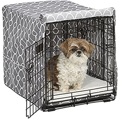 Amazon Com Midwest Dog Crate Cover Privacy Dog Crate Cover Fits Midwest Dog Crates Machine Wash Dry Pet Su Midwest Dog Crates Dog Crate Cover Dog Crate