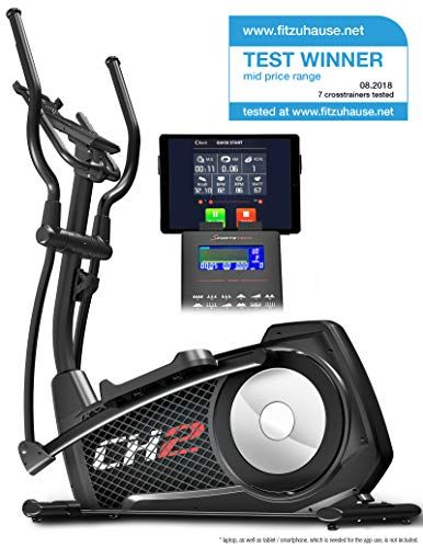 Sportstech Cx2 Cross Trainer With Smartphone App & Integrated Power
