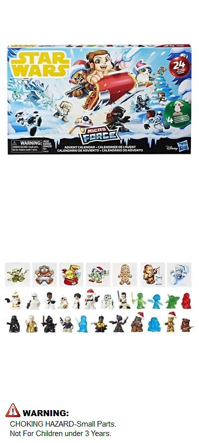 New Sealed 24 Figures Star Wars 2018 Micro Force Advent Calendar