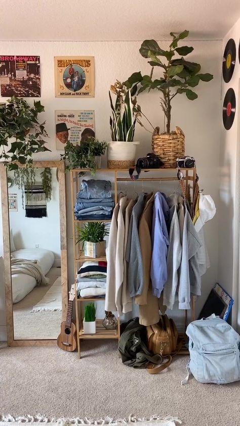 Cozy Room, Indie Room Decor, Room Inspiration Bedroom, Room Decor Bedroom, Bedroom Interior, Bedroom Makeover, Indie Room, Room Makeover, Room Inspo