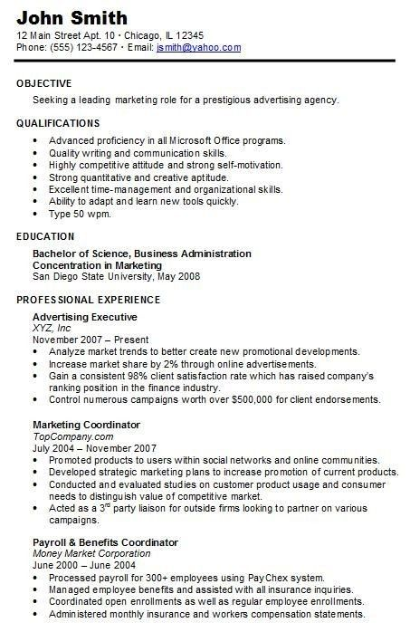 Chronological Resume Online This Is How Chronological Resume Online Will Look Like In Chronological Resume Template Chronological Resume Job Resume Samples