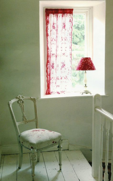 Chair covered in Roses by Kate Forman