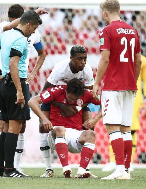 Denmarks Thomas Delaney In Their 2018 Fifa World Cup Group C Round 3 World Cup Groups World Cup Fifa